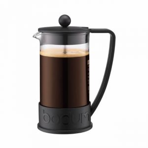 Bodum Brazil French Press Coffee Maker 3cup Black