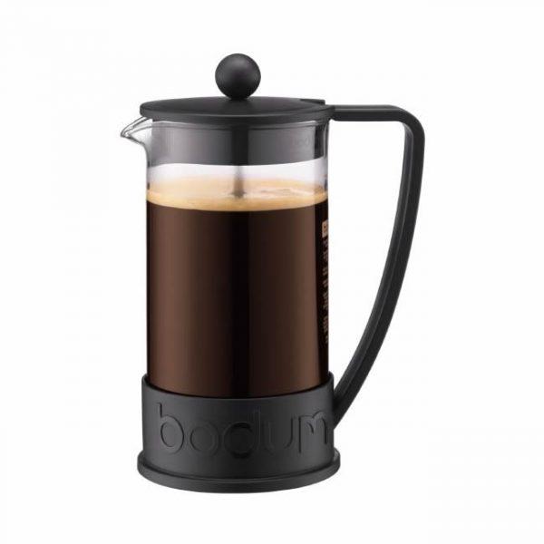 Bodum Brazil French Press Coffee Maker 3cup Black