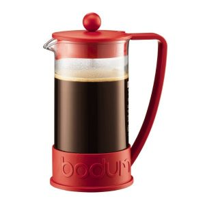 Bodum Brazil French Press Coffee Maker 8cup Red