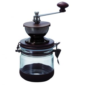 Hario Ceramic Burr Canister Hand Coffee Grinder Mill