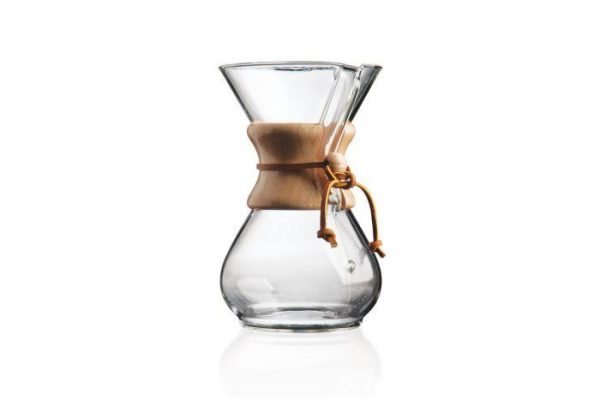 Chemex 6-cup classic pour over coffee brwer