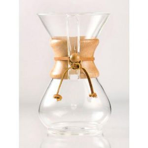 Chemex 8-cup pour over coffee brewer