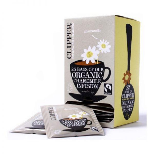 clipper chamomile organic tea