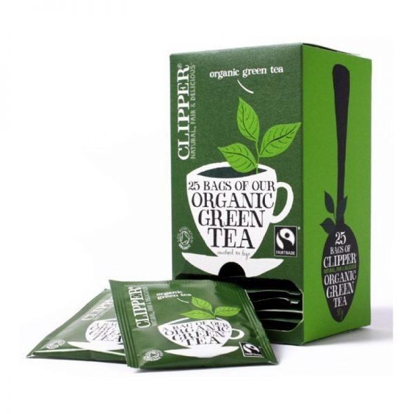 clipper green tea organic