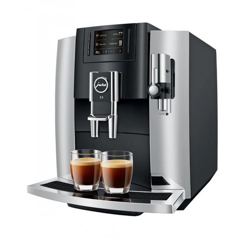 Jura Home Coffee Machine - E8 Bean to Cup - Chrome - Nice ...