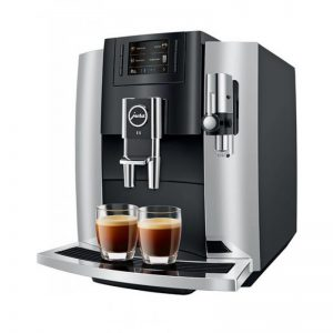 jura coffee machine 8 inox grey