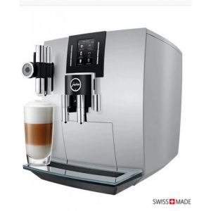 jura coffee machine j6 silver
