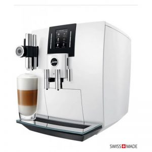 jura coffee machine j6 white